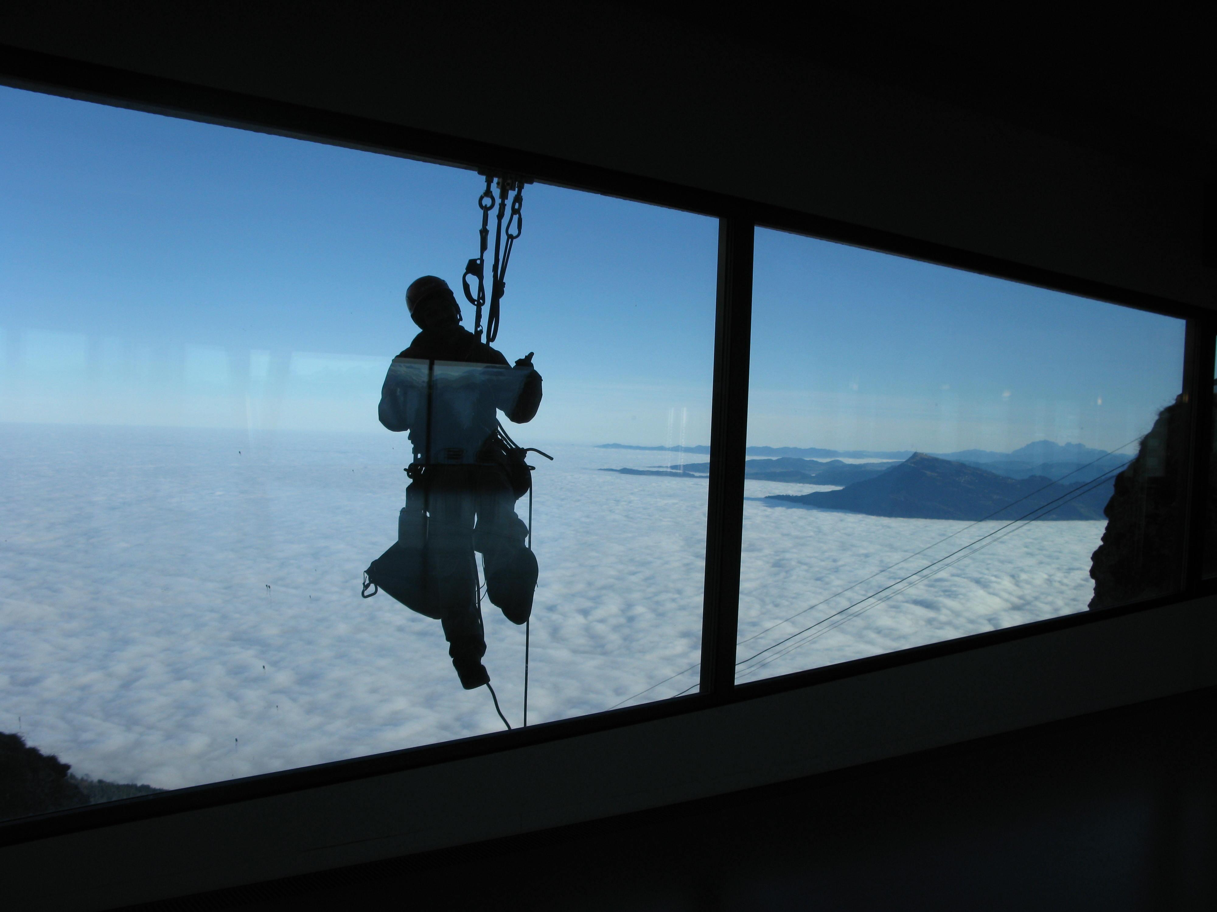 Höhenarbeit Seilarbeit Industriekletterer Abseiltechnik Seiltechnik